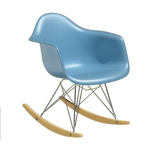 RAR Rocker Junior Eames Reproduction Blue Chair