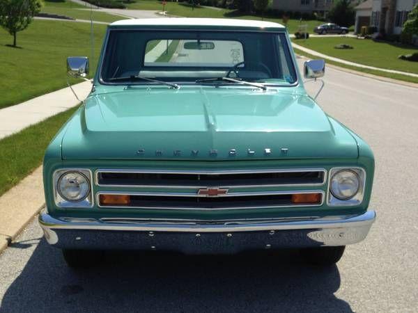 1967 Chevy C10 P/U - $7899 (Hanover, PA)   Classic chevy ...