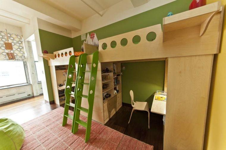 Idée déco chambre  la chambre enfant partagée Mezzanine
