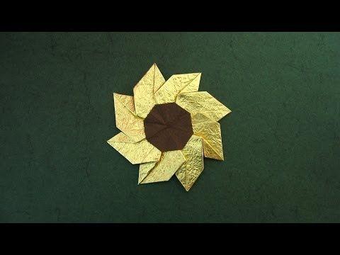 Origami instructions flower gaillardia meenakshi mukerji origami instructions flower gaillardia meenakshi mukerji youtube mightylinksfo