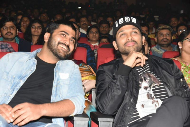 Allu Arjun Sharwanand At PPLM Pre Release Event