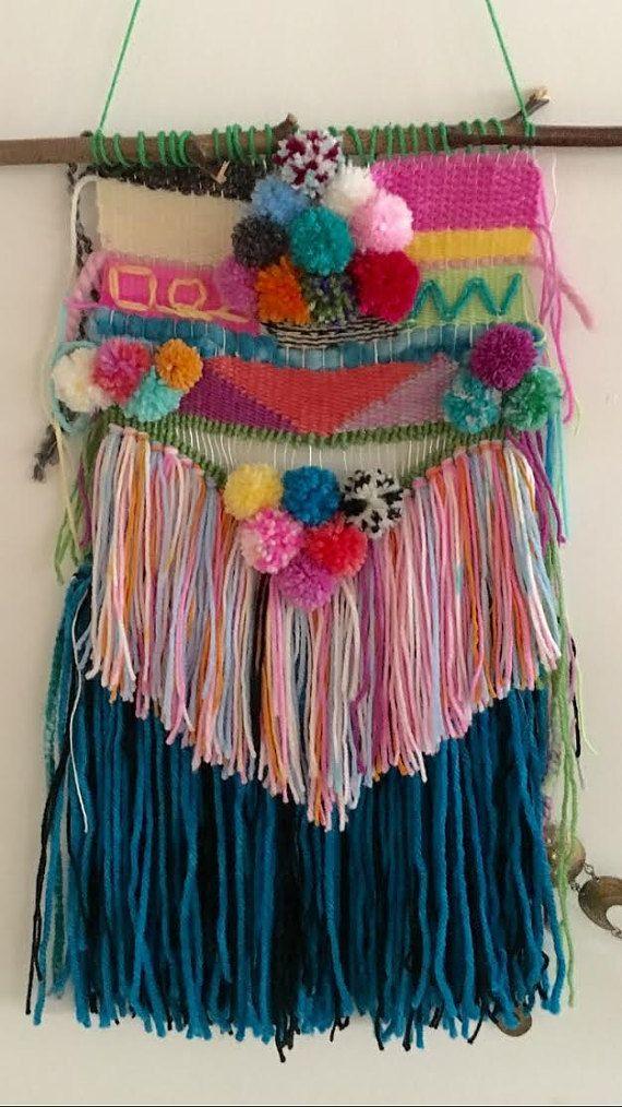 Mexicaanse verjaardagspartij handgemaakte weven door CaraSilverman