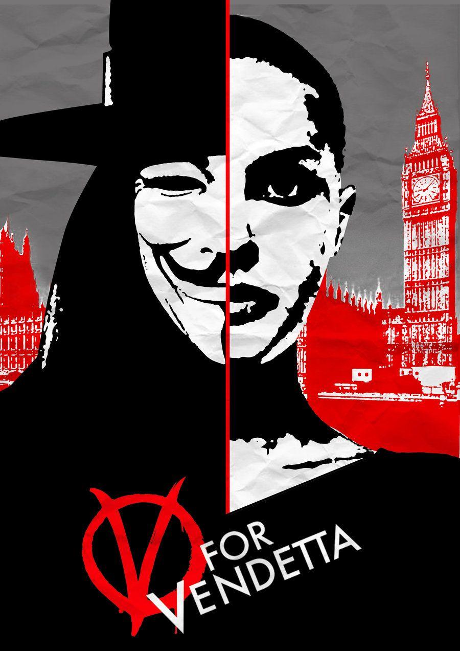 Resultado de imagen para v for vendetta poster tumblr