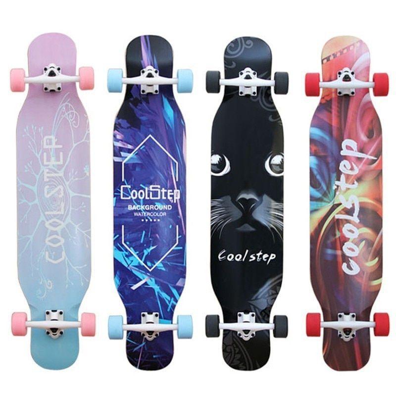 Freestyle Skateboard Dance Board Scooter Four Wheel Professiona Board Longboard