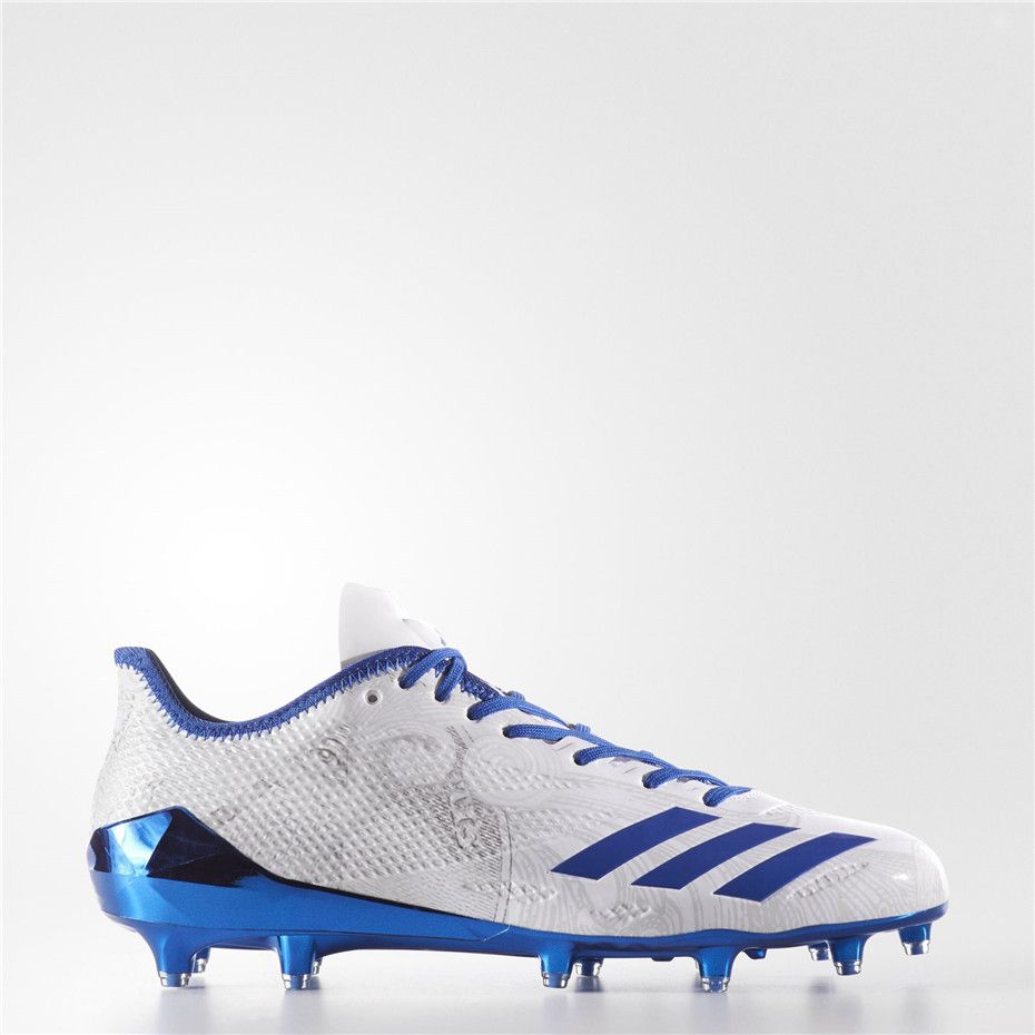 Adidas adizero 5-Star 6.0 Cleats (Running White / Collegiate Royal / Collegiate  Royal
