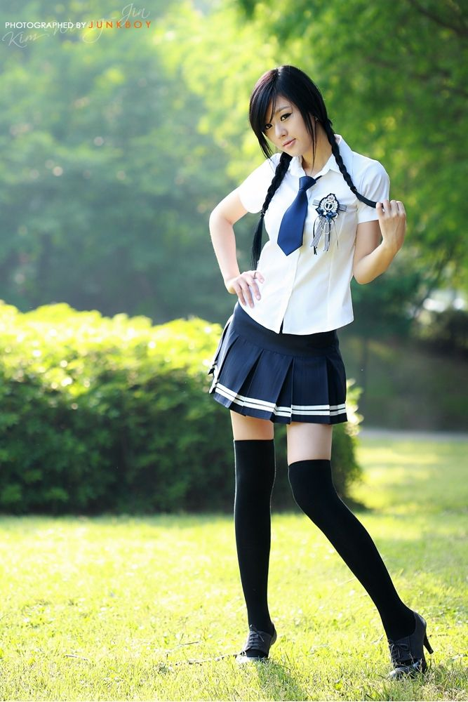 Pin by henrychan on HwangMiHee | Schoolgirl style, Girls ...
