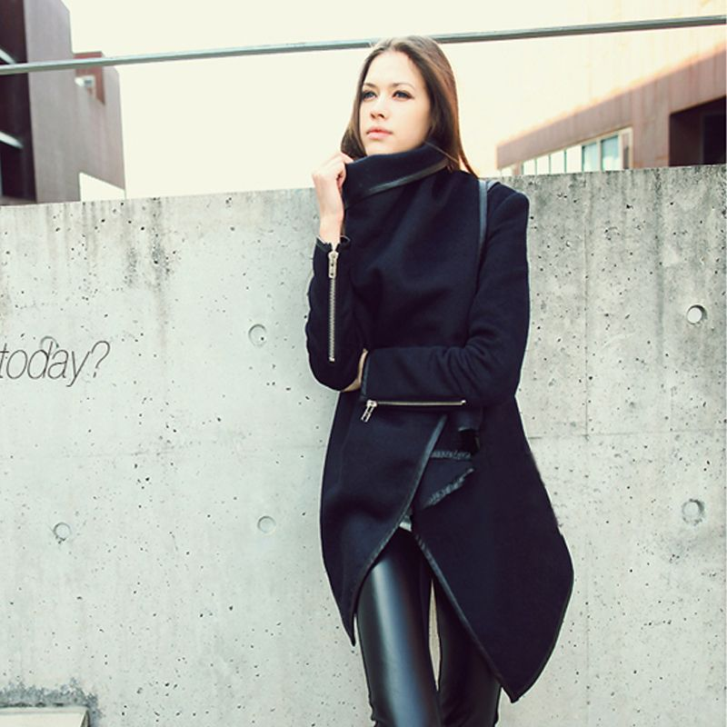 Free Shipping 2013 winter woolen overcoat women fashion trench ...