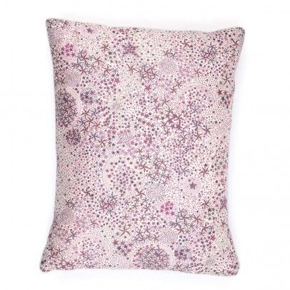 Liberty fabric pillow.