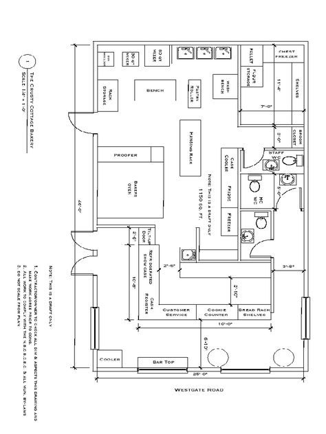 home based bakery store fronts | Bakery Floor Plan