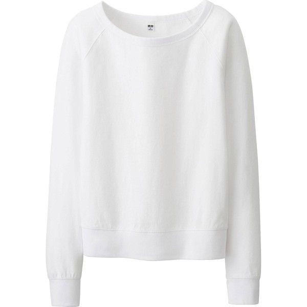 UNIQLO Women Stretch Jersey Long Sleeve Pullover (€26) ❤ liked on Polyvore featuring tops, uniqlo, sweater pullover, woven top, long sleeve pullover and pullover tops