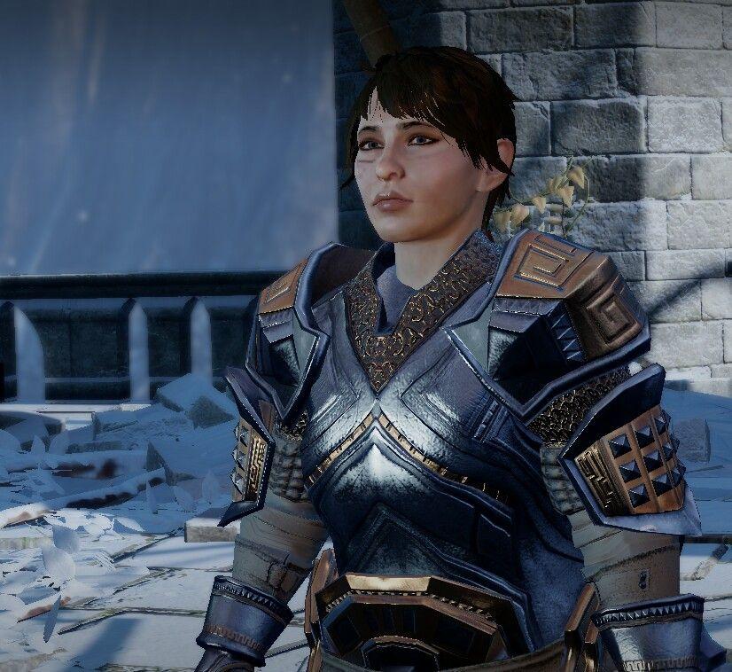 My Dragon Age Inquisitor, Nakira the Dwarf >__< | The digital world