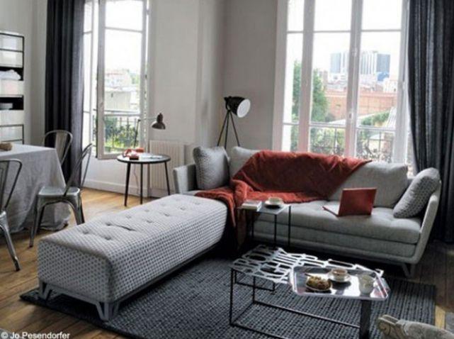 petit salon design scandinave de gelukkige huisvrouw pinterest salons and salon design. Black Bedroom Furniture Sets. Home Design Ideas