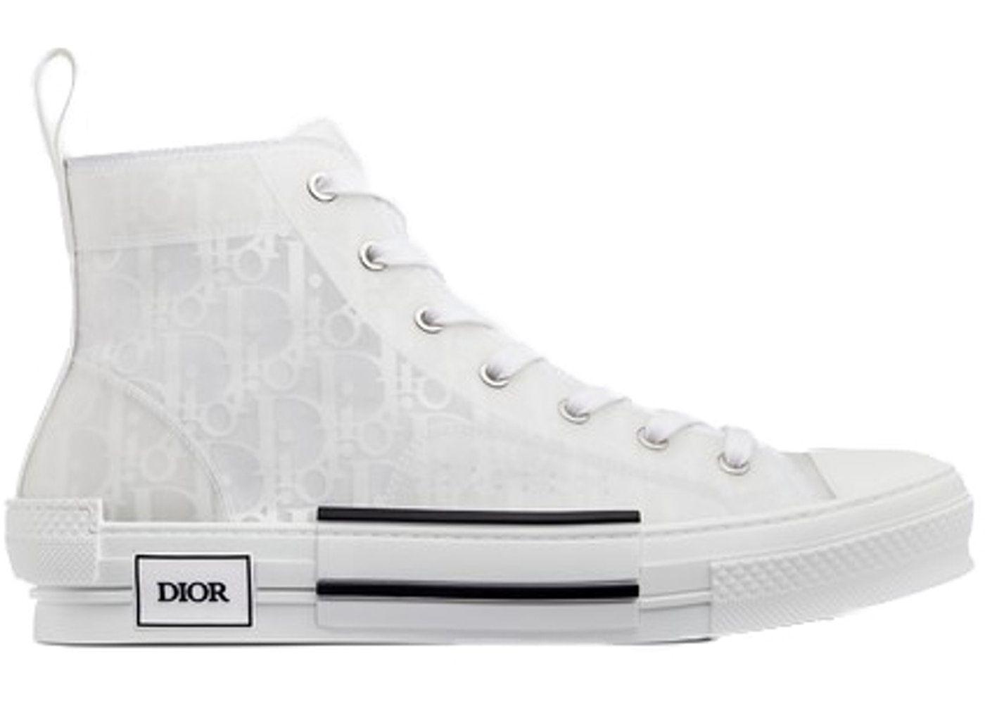 dior high tops converse