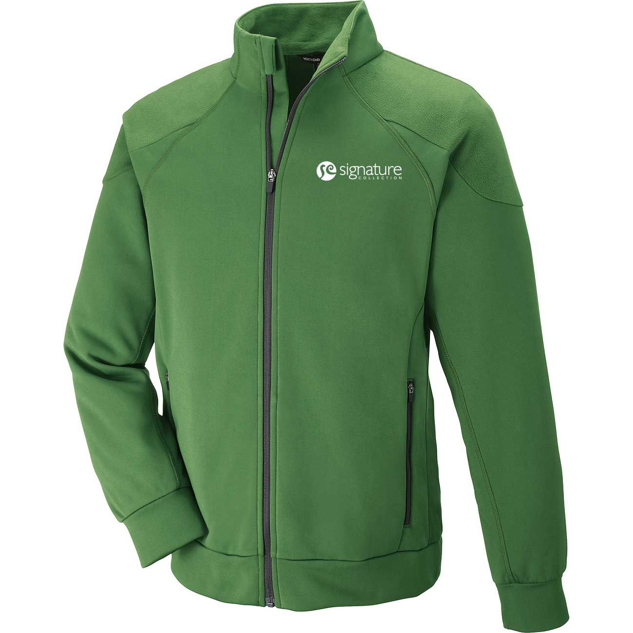 Keep warm this march with our mens bonded fleece jacket men