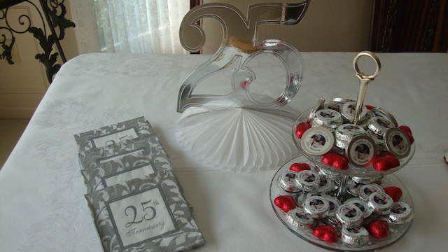 bodas de plata decoracion en casa - buscar con google | bodas de