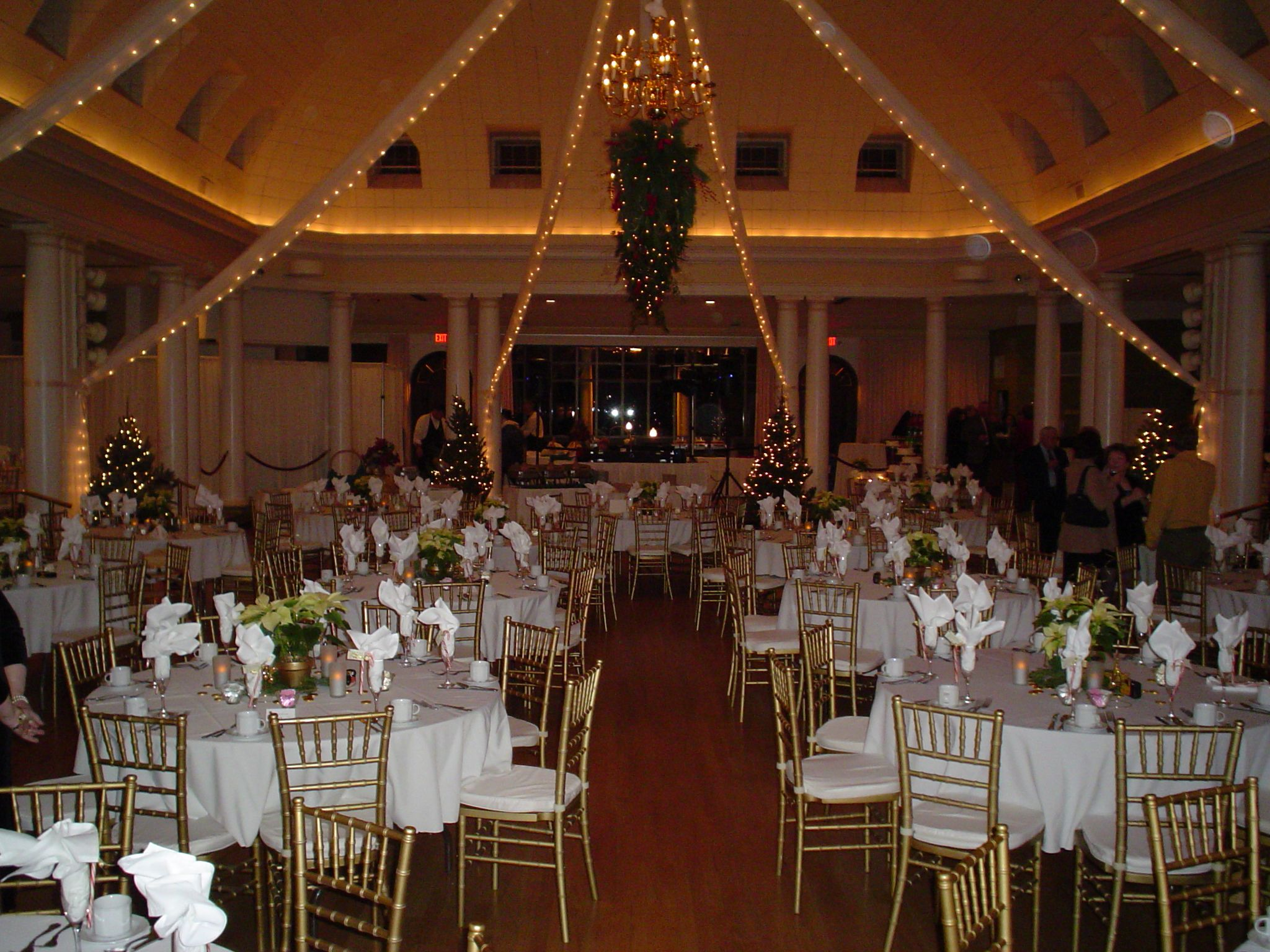 Wedding Ceremony And Reception At The Elegant Historic Riviera Docks Ballroom In Lake Geneva