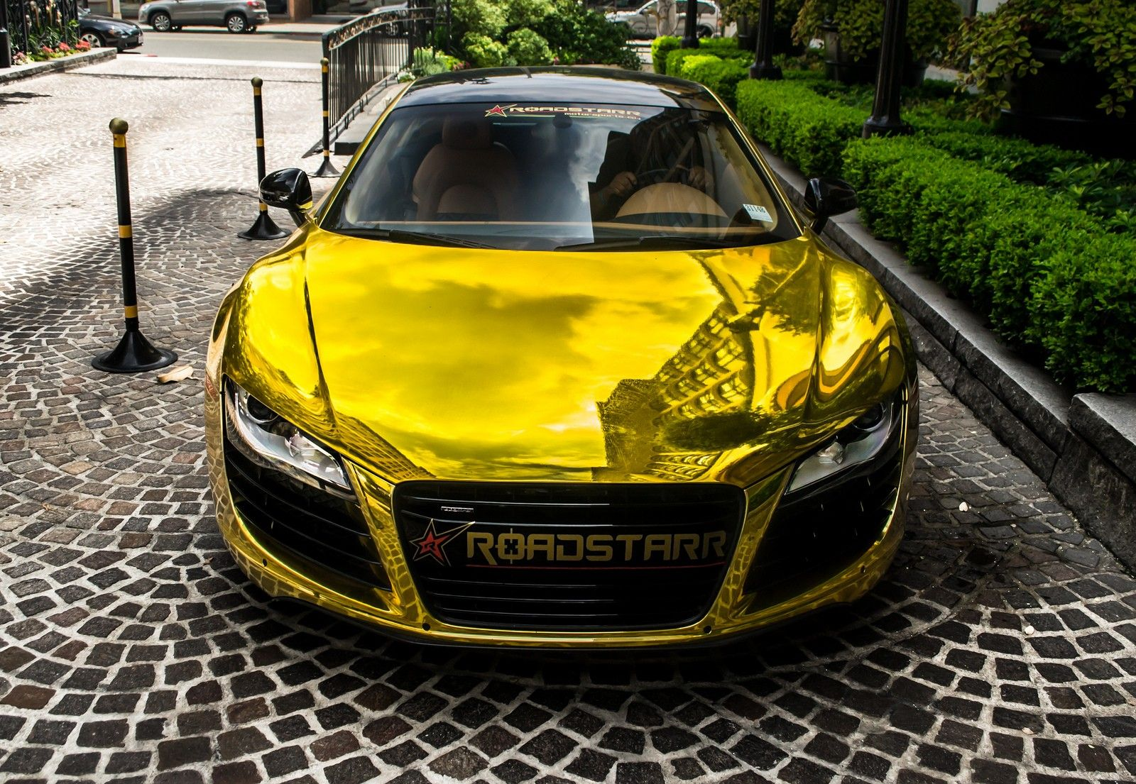 golden audi r8 (for more click in image)