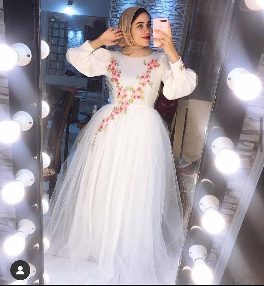 From Instagram Dresses Tulle Skirt Hijab Dress