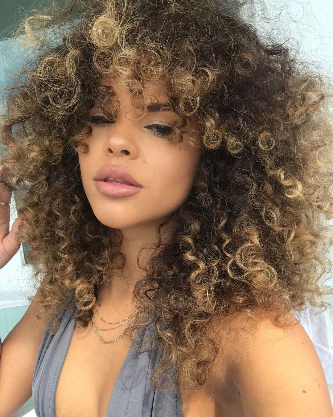 Curl Hairstyles Beauteous Pinariel On Hair Pinterest  Curly Curly Hairstyles And Natural