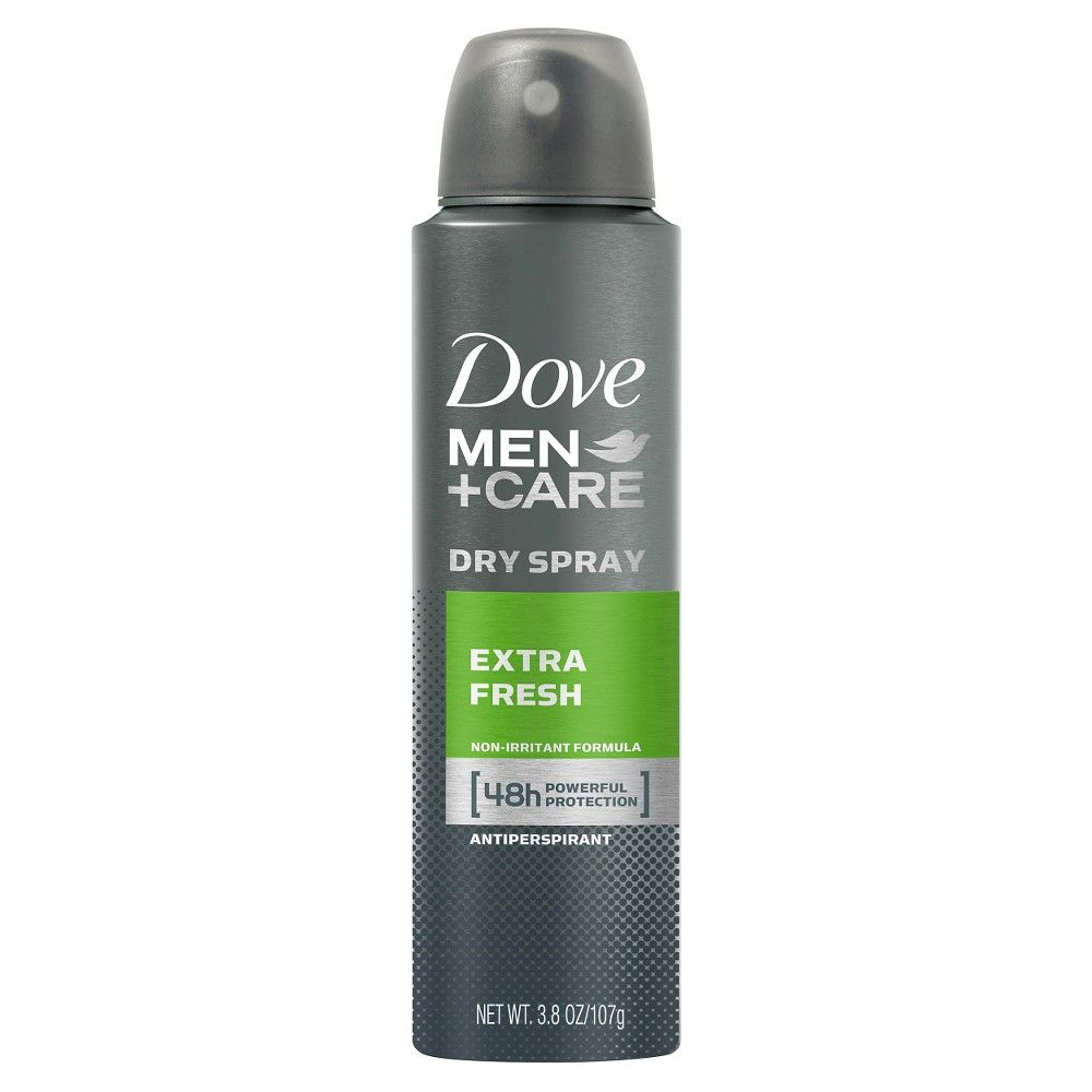Dove Men+Care Extra Fresh Dry Spray Antiperspirant - 3.8oz
