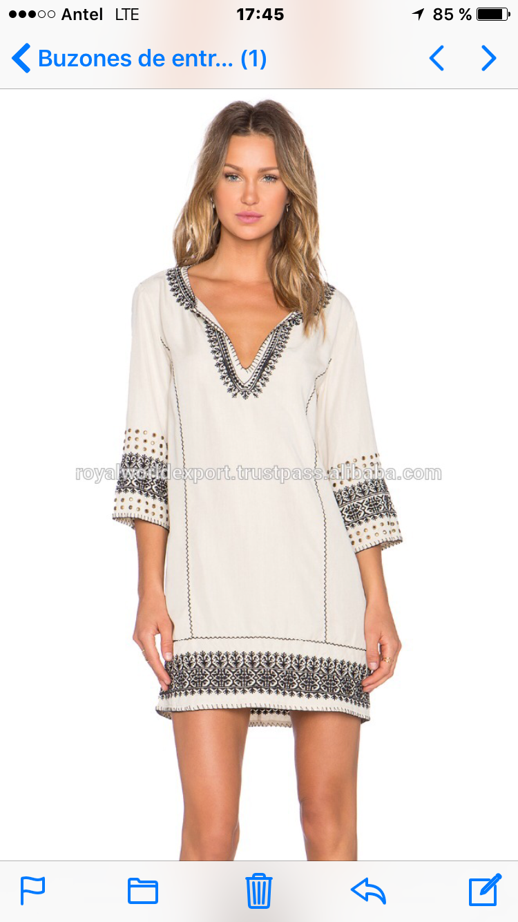 Pin By Leo Coore On Ropa De Dama Embroidered Tunic Dress Clothes Design White Embroidered Dress