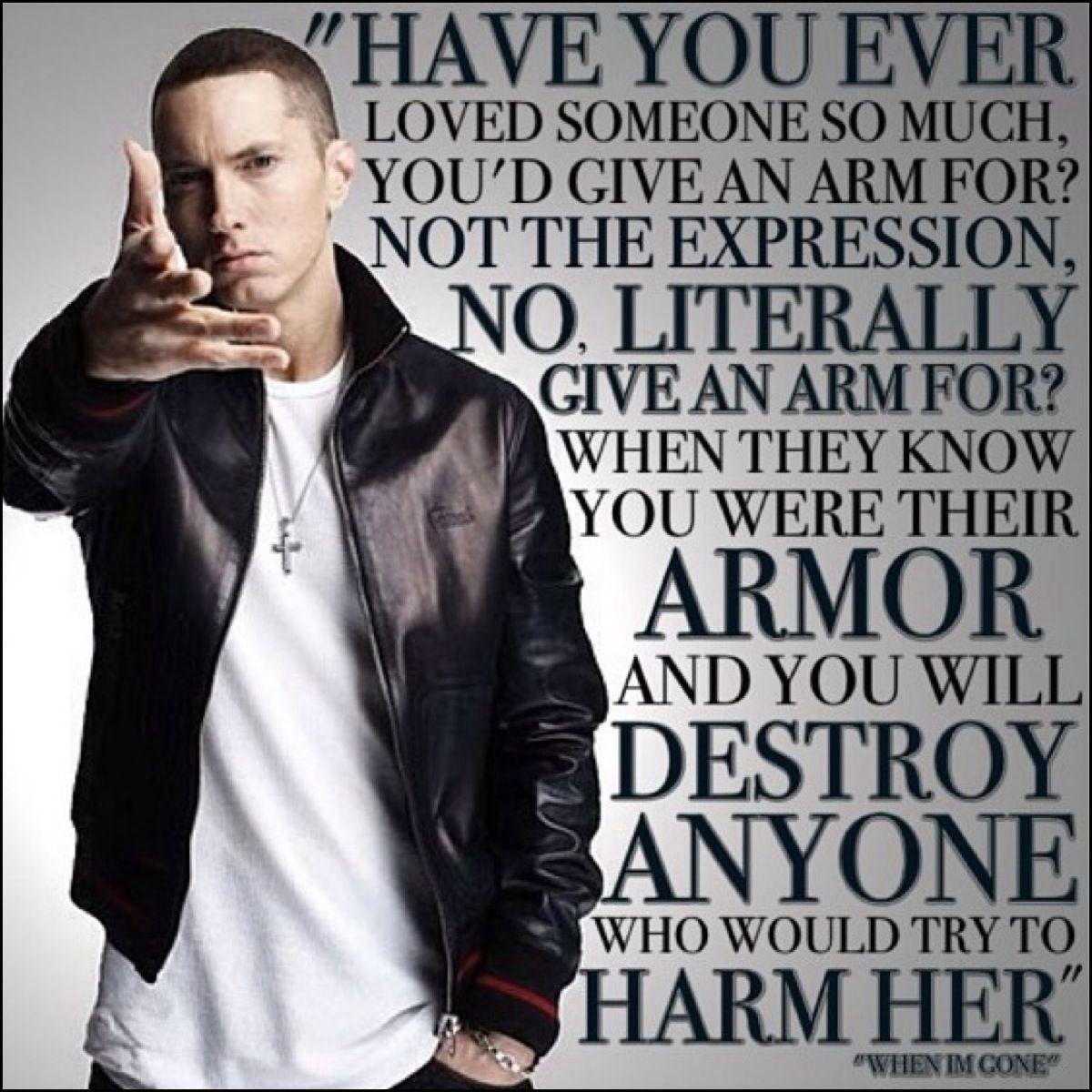 The other word. Eminem. Eminem quotes