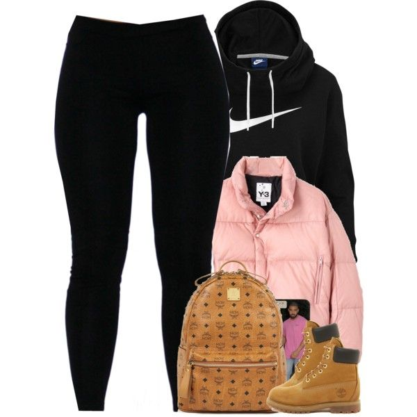 Untitled #1505 by power-beauty on Polyvore featuring polyvore, fashion, style, NIKE, Y-3, Timberland, MCM and clothing