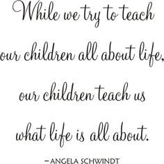 Genial You Teach Your Kids About Life Your Kids Teach You What Life   Yahoo Image  Search