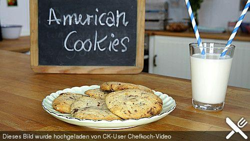 American Cookies - Double-Chocolate Chip Cookies, ein leckeres Rezept aus der Kategorie Backen. Bewertungen: 43. Durchschnitt: Ø 4,1.
