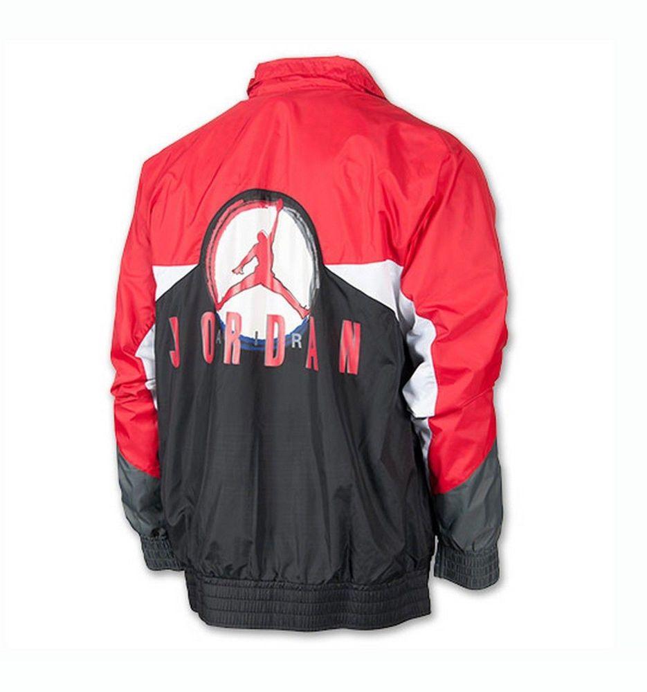Jordan Legacy Flight Nostalgia Aj 9 Loose Fit Men S Retro Jacket Black Retro Jacket Workout Jacket Nike Outfits