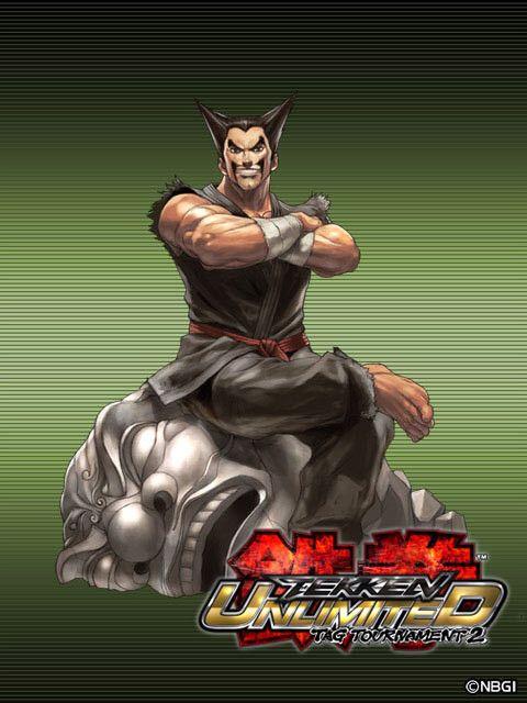 heihachi mishima tekken tag tournament 2 mishima character art street fighter pinterest
