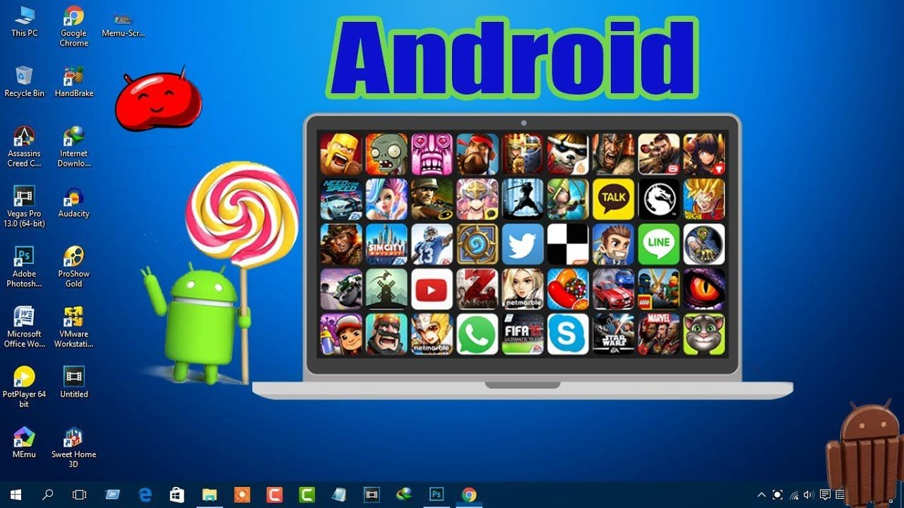 How To Play Android Games On Computer for Free (without bluestacks