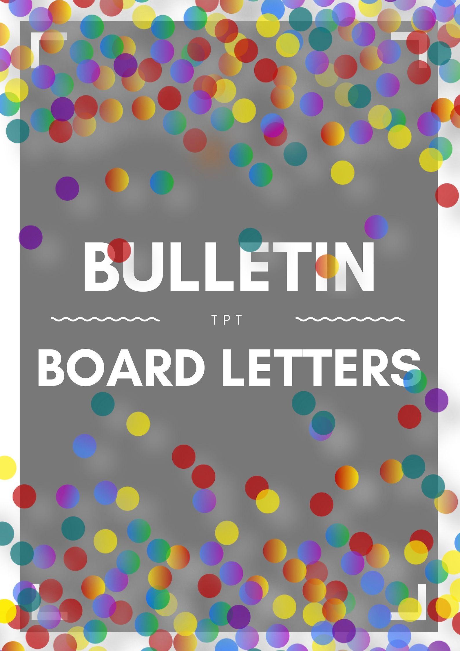 Bulletin board letters bulletin board letters lettering