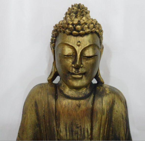 Buda Tibetano - peça em gesso