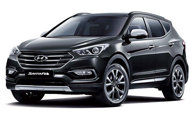 Hyundai Motor Releases 2017 Santa Fe 자동차 캠핑 조명 새