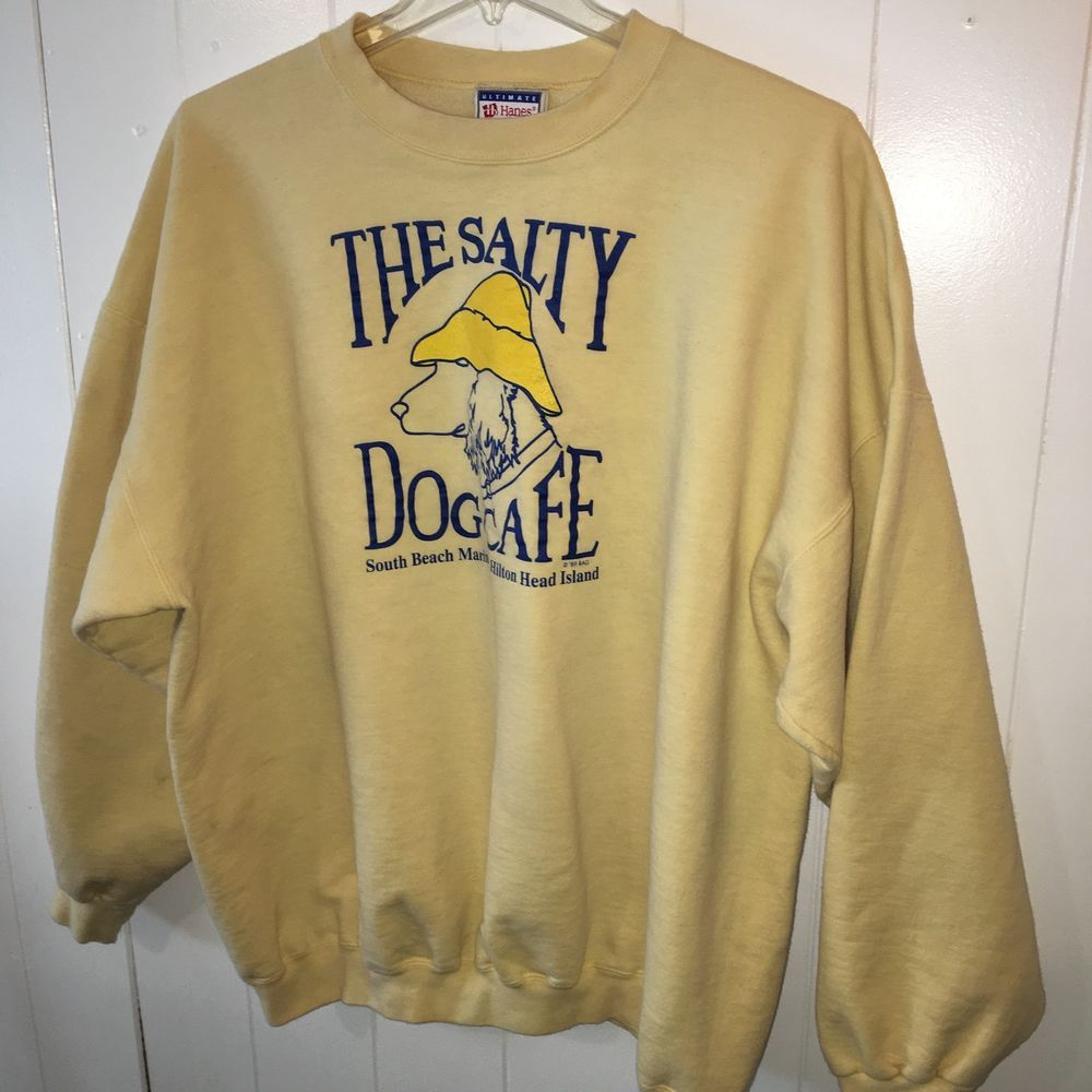 073468088 The Salty Dog Cafe Vintage Sweatshirt Size 2XL | eBay | love in 2019 ...