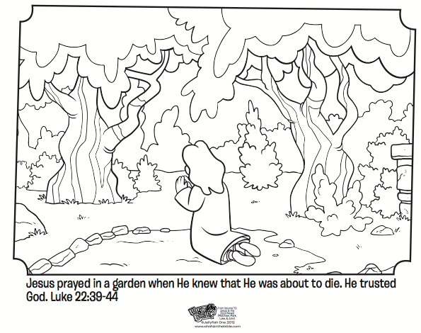 sunday school coloring pages prayer - photo#27