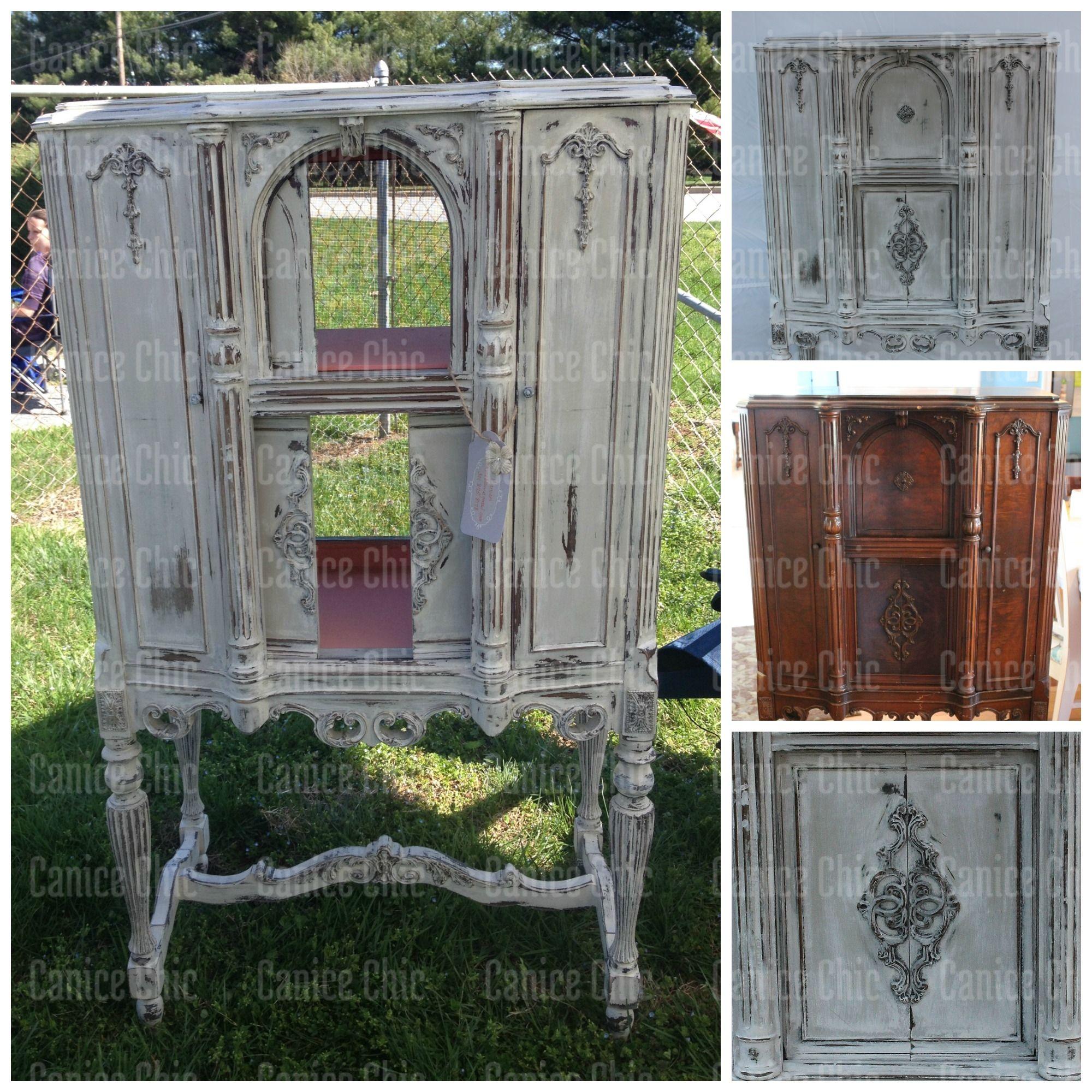 Beautiful Refinishing Antique Radio Cabinets