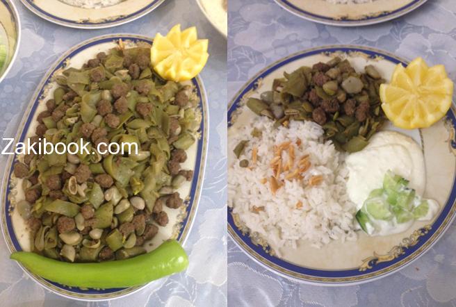فولية باللحمة أكلة سهلة وسريعة زاكي Middle Eastern Recipes Food Main Dishes