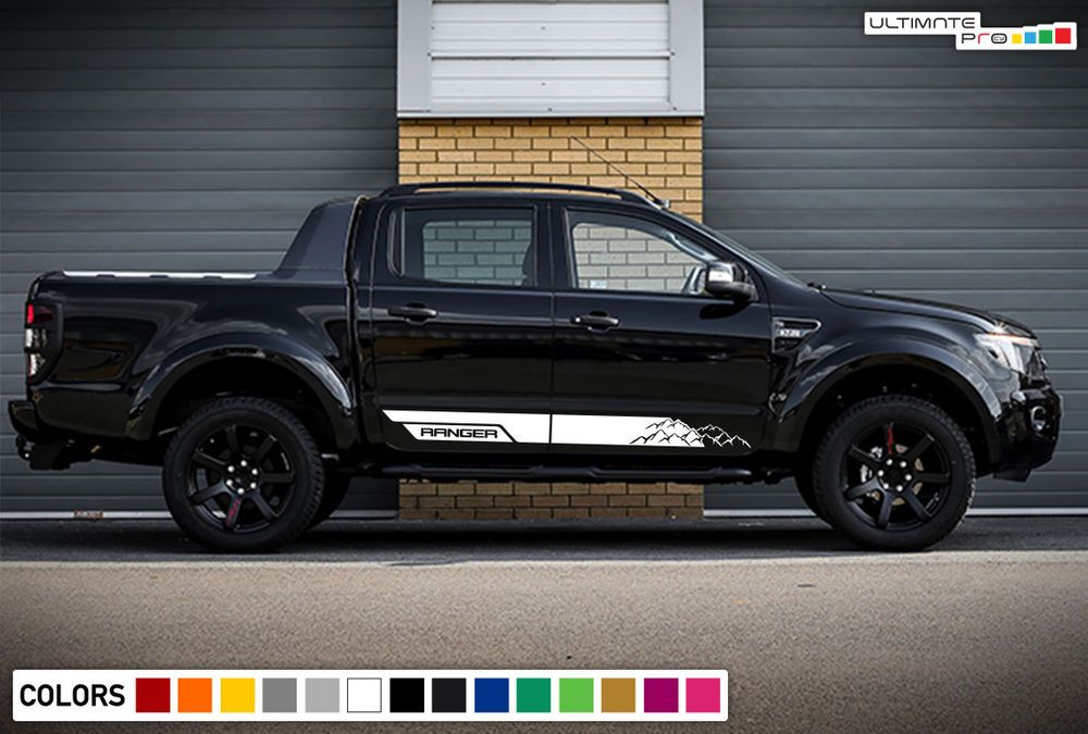 Sticker Decal Graphic Lower Door Stripes For Ford Ranger T6