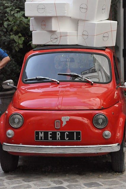 Oui Merci Funny That This Is On A Fiat Just Sayin Junkshow