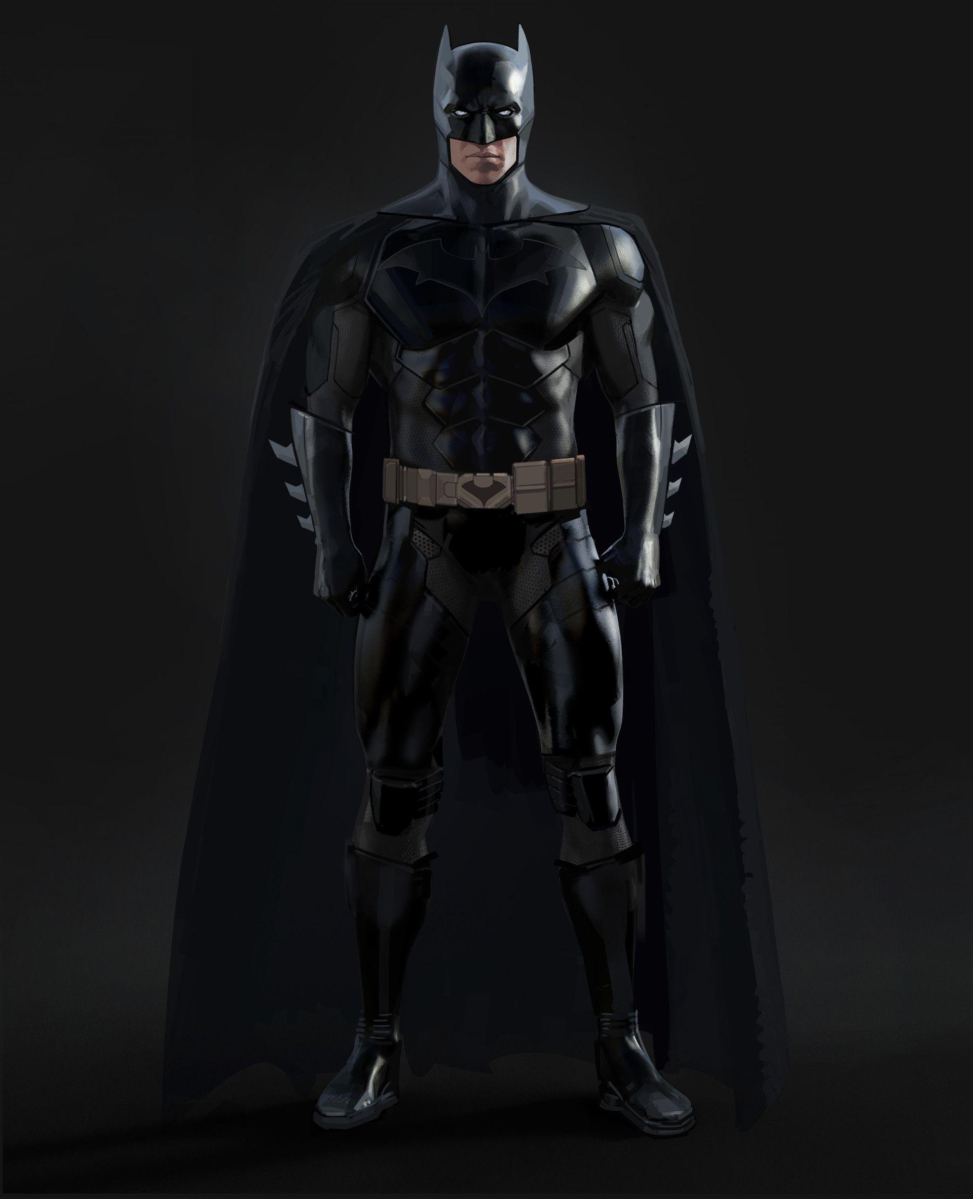 ArtStation - Batman designs for TT's Batman season 2 ...