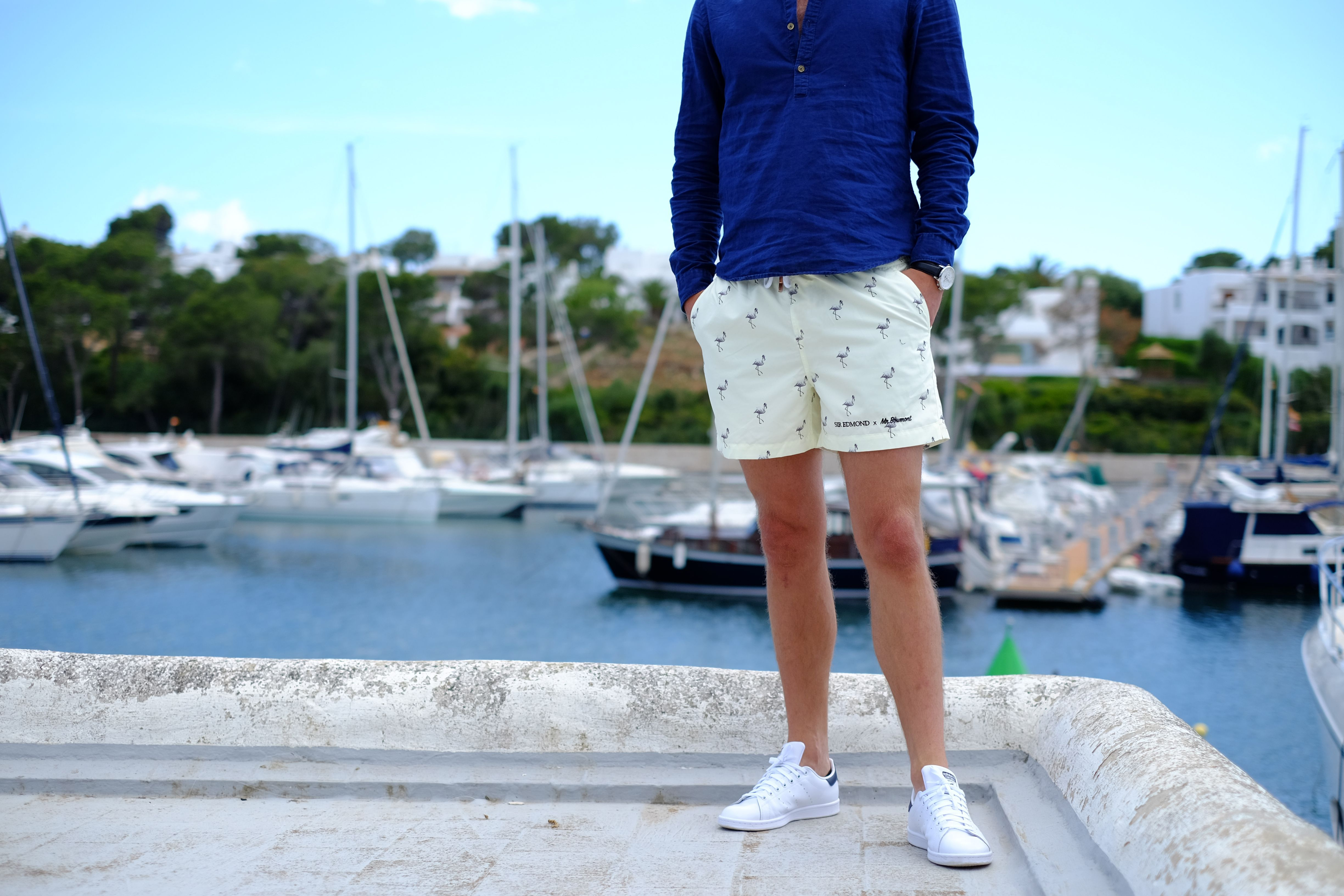 Swim Shorts From An Amsterdam Brand Collaboration Met Afbeeldingen