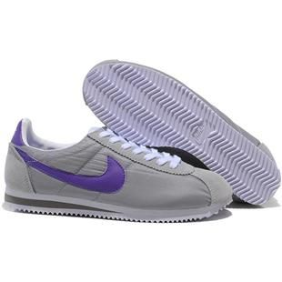 finest selection f9883 d1565 Oxford Cloth Shoes Gray Purple Men Nike Cortez. Nike Classic Cortez Nylon  ...