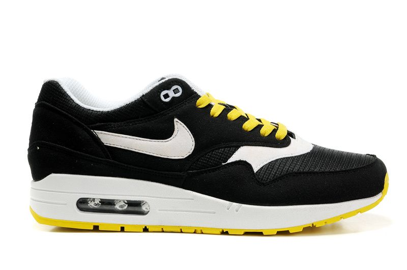 mens nike air max 87 sb black yellow