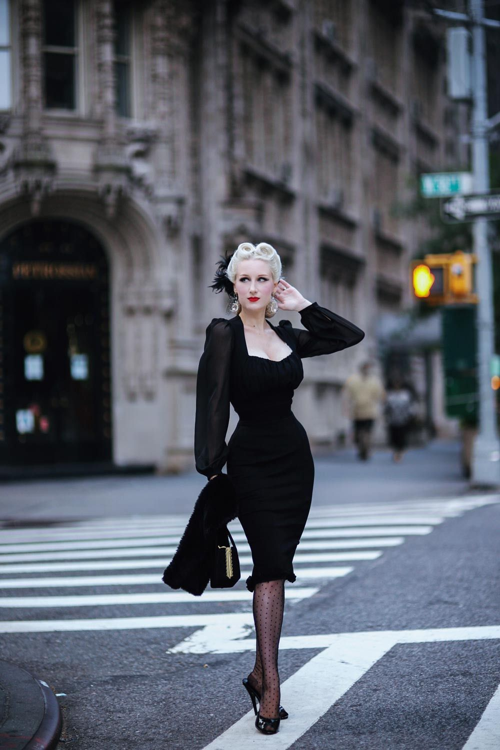 497a5acee Aziza Dress in Black Ponte by Elvira Mistress of the Dark in 2019 ...