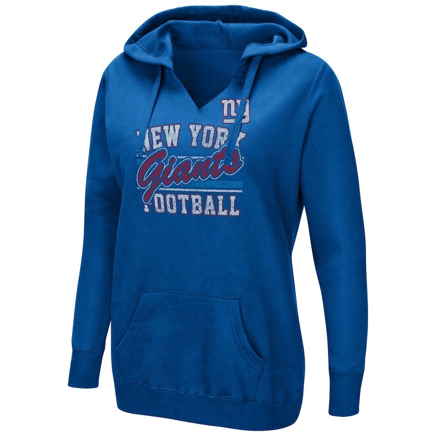 newest collection 4240a 7b268 Plus Size New York Giants Football Hoodie, Women's, Size ...