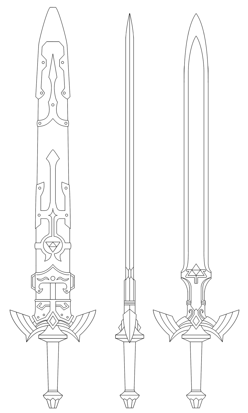 Master sword blueprint twilight princess by fridator pinteres master sword blueprint twilight princess by fridator more malvernweather Images