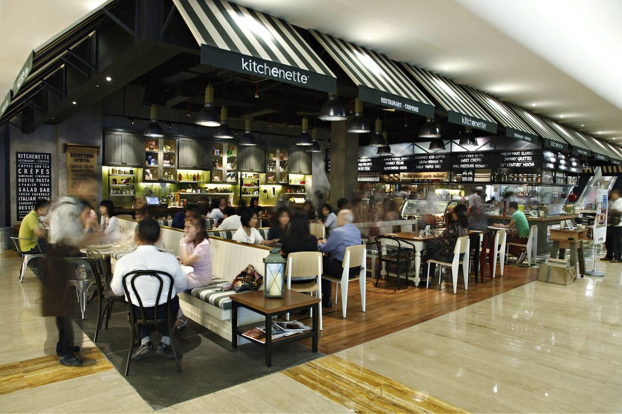 Best Spot in Plaza Indonesia Cafe restaurant, Food hall