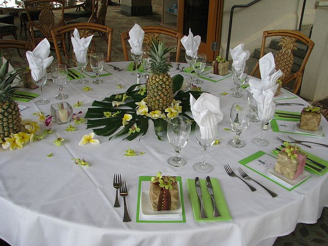 Wedding reception at seawatch restaurant maui pineapple pineapple centerpiece wedding recent photos the commons getty collection galleries world map app junglespirit Image collections